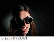 Купить «man sunglasses shrill sunglass hairs», фото № 8783081, снято 18 апреля 2019 г. (c) PantherMedia / Фотобанк Лори