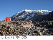 Купить «snow africa peak camping summit», фото № 8794605, снято 25 июня 2019 г. (c) PantherMedia / Фотобанк Лори