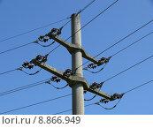 Купить «mast traverse betonmast current energy», фото № 8866949, снято 23 мая 2019 г. (c) PantherMedia / Фотобанк Лори