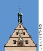 Купить «clock baroque gable sun dial», фото № 8870105, снято 19 марта 2019 г. (c) PantherMedia / Фотобанк Лори