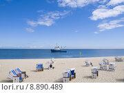 Купить «strand meer himmel urlaub strandkorb», фото № 8890489, снято 19 октября 2019 г. (c) PantherMedia / Фотобанк Лори