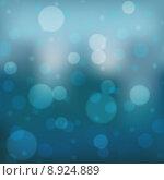 Купить «Blue Bokeh Background», иллюстрация № 8924889 (c) PantherMedia / Фотобанк Лори