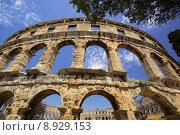 Купить «roman croatia theatre arc amphitheater», фото № 8929153, снято 23 марта 2019 г. (c) PantherMedia / Фотобанк Лори