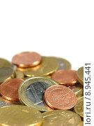 Купить «europe money currency euro coins», фото № 8945441, снято 22 июля 2019 г. (c) PantherMedia / Фотобанк Лори