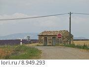 Купить «Graffiti-Covered Building in a Rural Landscape», фото № 8949293, снято 20 февраля 2020 г. (c) PantherMedia / Фотобанк Лори