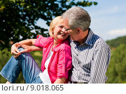 Купить «holiday vacation couple senior holidays», фото № 9018065, снято 19 сентября 2018 г. (c) PantherMedia / Фотобанк Лори
