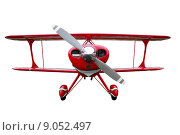 Купить «Red biplane cut out», фото № 9052497, снято 27 мая 2019 г. (c) PantherMedia / Фотобанк Лори