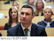Купить «Berlin, Germany, Vitali Klitschko, UDAR, Mayor of Kiev», фото № 9071605, снято 12 сентября 2014 г. (c) Caro Photoagency / Фотобанк Лори