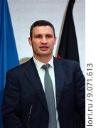 Купить «Berlin, Germany, Vitali Klitschko, UDAR, Mayor of Kiev», фото № 9071613, снято 12 сентября 2014 г. (c) Caro Photoagency / Фотобанк Лори