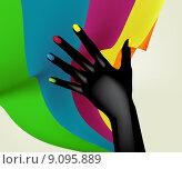 Купить «Abstract Background», иллюстрация № 9095889 (c) PantherMedia / Фотобанк Лори