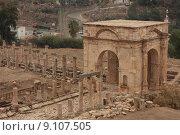 Купить «roman jordan jerash gerash stadttor», фото № 9107505, снято 25 мая 2019 г. (c) PantherMedia / Фотобанк Лори