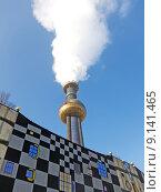 Купить «vienna incinerator hundertwasser mva spittelau», фото № 9141465, снято 26 апреля 2019 г. (c) PantherMedia / Фотобанк Лори