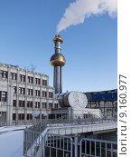 Купить «architecture vienna incinerator architectural style», фото № 9160977, снято 26 апреля 2019 г. (c) PantherMedia / Фотобанк Лори