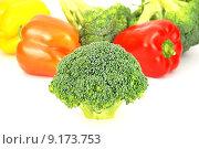 Купить «Fresh vegetables pattern», фото № 9173753, снято 19 июня 2019 г. (c) PantherMedia / Фотобанк Лори
