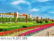 Купить «Большой зал народа (Национальный музей Китая) на площади Тяньаньмэнь, Пекин. Китай.», фото № 9207389, снято 19 мая 2015 г. (c) Vitas / Фотобанк Лори