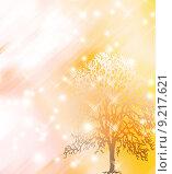Купить «Abstract nature tree and snow card», фото № 9217621, снято 17 февраля 2019 г. (c) PantherMedia / Фотобанк Лори