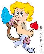 Купить «Lurking Cupid with bow and arrow», иллюстрация № 9256589 (c) PantherMedia / Фотобанк Лори