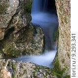 Купить «Крымский водопад», фото № 9293341, снято 29 марта 2008 г. (c) Минаев Сергей / Фотобанк Лори