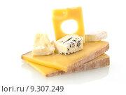 Купить «Cheese still life.», фото № 9307249, снято 26 мая 2020 г. (c) PantherMedia / Фотобанк Лори