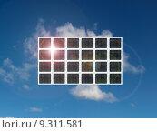 Купить «Solar Panel», фото № 9311581, снято 21 мая 2018 г. (c) PantherMedia / Фотобанк Лори