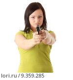 Купить «Angry woman», фото № 9359285, снято 23 июля 2019 г. (c) PantherMedia / Фотобанк Лори