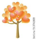 Купить «heart tree», фото № 9374809, снято 23 июля 2019 г. (c) PantherMedia / Фотобанк Лори