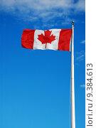 Купить «Canadian flag», фото № 9384613, снято 25 марта 2019 г. (c) PantherMedia / Фотобанк Лори