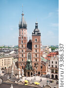 Купить «St. Mary's church in Krakow, Poland», фото № 9386337, снято 19 марта 2019 г. (c) PantherMedia / Фотобанк Лори