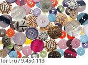 Купить «Assorted buttons», фото № 9450113, снято 22 мая 2019 г. (c) PantherMedia / Фотобанк Лори