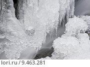 Купить «water winter river ice frozen», фото № 9463281, снято 26 июня 2019 г. (c) PantherMedia / Фотобанк Лори