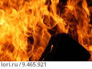 Купить «fire flame burn conflagration wood», фото № 9465921, снято 26 марта 2019 г. (c) PantherMedia / Фотобанк Лори
