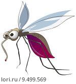 Купить «Cartoon Character Mosquito», фото № 9499569, снято 18 мая 2018 г. (c) PantherMedia / Фотобанк Лори