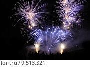 Купить «Fireworks display», фото № 9513321, снято 17 февраля 2019 г. (c) PantherMedia / Фотобанк Лори