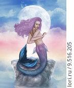 Купить «mermaid », фото № 9516205, снято 17 января 2018 г. (c) PantherMedia / Фотобанк Лори