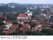 Купить «Vilnius - the capital of Lithuania, aerial view», фото № 9518229, снято 22 июля 2018 г. (c) PantherMedia / Фотобанк Лори