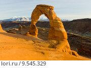 Купить «Delicate Arch, Arches National Park, Utah, USA», фото № 9545329, снято 20 июня 2019 г. (c) PantherMedia / Фотобанк Лори