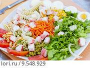 Купить «vegetable salad», фото № 9548929, снято 26 марта 2019 г. (c) PantherMedia / Фотобанк Лори