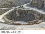 Купить «shovel quarry dredger baumaschinen schaufelbagger», фото № 9661941, снято 24 марта 2019 г. (c) PantherMedia / Фотобанк Лори