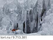 Купить «fringe of ice», фото № 9713381, снято 27 марта 2019 г. (c) PantherMedia / Фотобанк Лори
