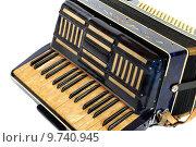 Купить «accordion musical instrument ziach blue», фото № 9740945, снято 21 января 2020 г. (c) PantherMedia / Фотобанк Лори