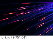 Купить «Optical fibers», фото № 9751041, снято 15 ноября 2018 г. (c) PantherMedia / Фотобанк Лори