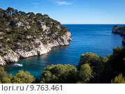 Купить «Splendid southern France coast (Calanques de Cassis)», фото № 9763461, снято 16 января 2019 г. (c) PantherMedia / Фотобанк Лори