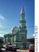 Купить «Пермская соборная мечеть», фото № 9778957, снято 18 октября 2013 г. (c) Manapova Ekaterina / Фотобанк Лори
