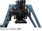 Купить «container cargo crane export import», фото № 9837985, снято 17 июня 2019 г. (c) PantherMedia / Фотобанк Лори