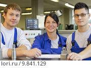 Купить «apprentices in training», фото № 9841129, снято 22 августа 2018 г. (c) PantherMedia / Фотобанк Лори