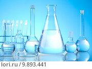 Купить «Chemistry and Laboratory glassware », фото № 9893441, снято 18 февраля 2019 г. (c) PantherMedia / Фотобанк Лори