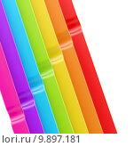 Купить «Abstract background made of stripes», фото № 9897181, снято 17 июня 2019 г. (c) PantherMedia / Фотобанк Лори