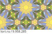 Купить «Kaleidoscope Star Burst Pattern», иллюстрация № 9958285 (c) PantherMedia / Фотобанк Лори