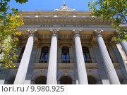 Купить «Bolsa de Madrid stock market in Spain», фото № 9980925, снято 18 июня 2019 г. (c) PantherMedia / Фотобанк Лори