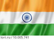Купить «Indian flag», иллюстрация № 10005741 (c) PantherMedia / Фотобанк Лори
